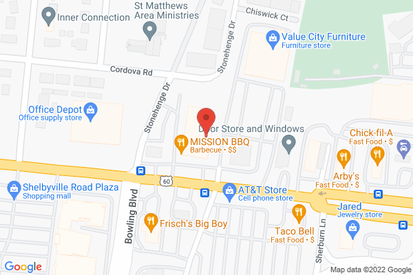 Mapped location of Mission BBQ