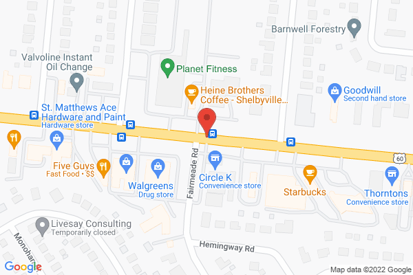 Mapped location of Heine Brothers