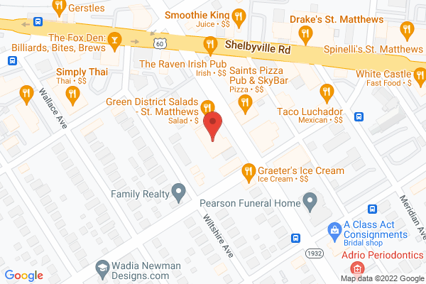 Mapped location of Scheller's Fitness & Cycling - St. Matthews