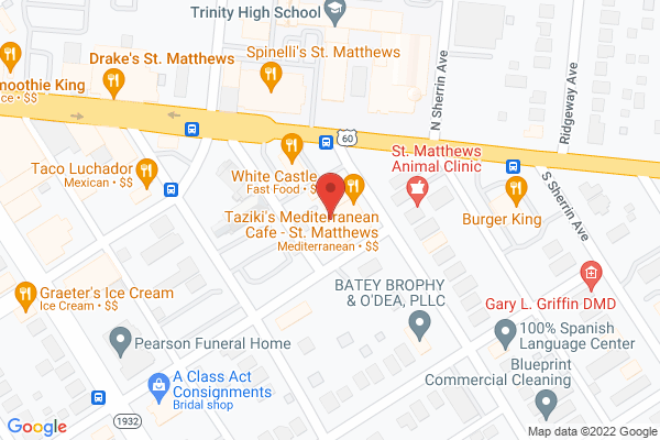 Mapped location of Penny & Pearl's
