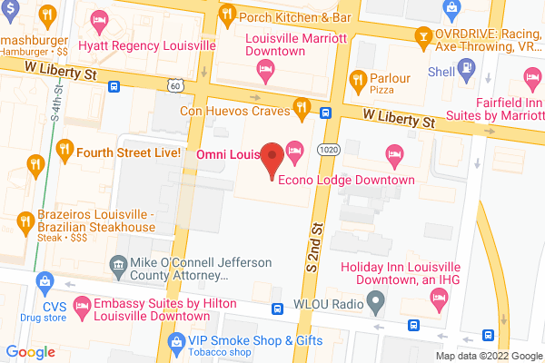 Mapped location of Library Bar