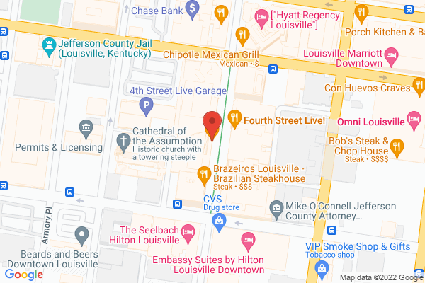 Mapped location of Guy Fieri's Smokehouse