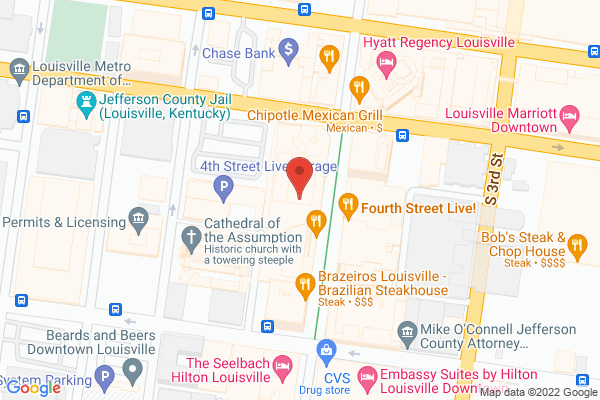 Mapped location of Whiskey Dry