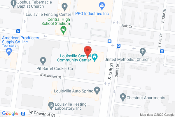 Mapped location of Louisville Central Community Centers, Inc.