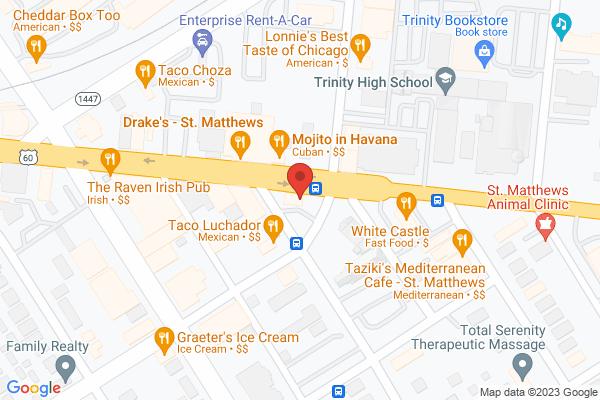 Mapped location of Jimmy John's Sub Shop