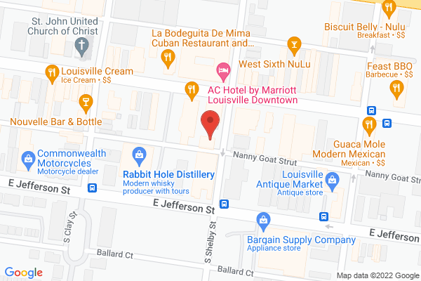 Mapped location of Clayton & Crume