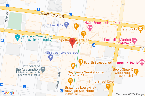 Mapped location of Gordon Biersch Brewery Restaurant