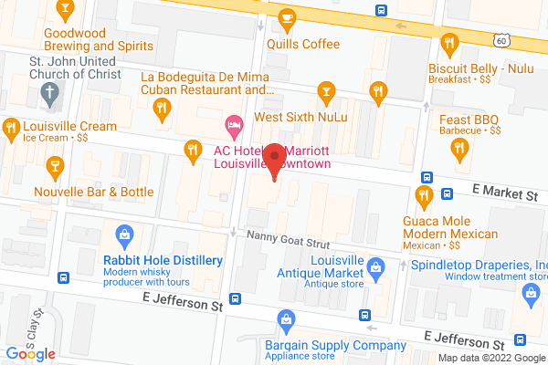 Mapped location of White's Mercantile