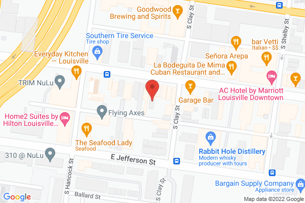 Mapped location of Bristol Catering