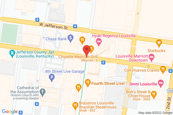 Mapped location of Derby City Brew Tours