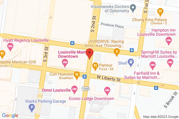 Mapped location of velofix Louisville