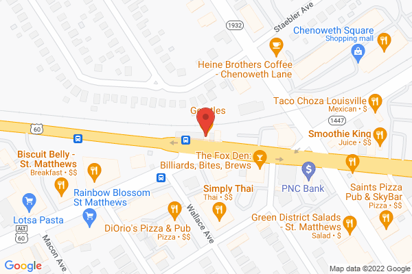 Mapped location of Gerstle's Place
