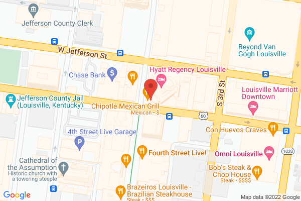 Mapped location of Chipotle Mexican Grill
