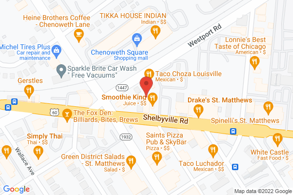 Mapped location of Tin Roof