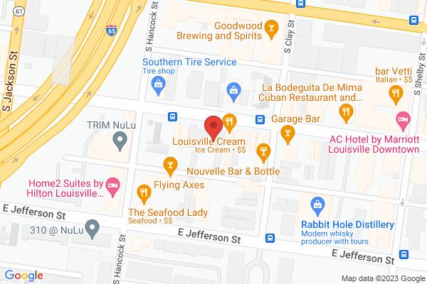 Mapped location of Toast On Market Nulu