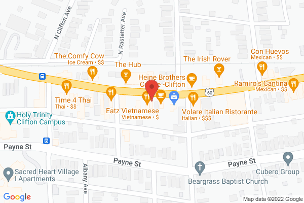 Mapped location of Four Sisters