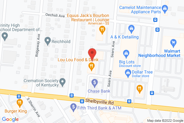 Mapped location of Lou Lou Food & Drink