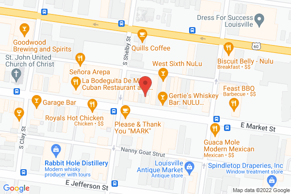 Mapped location of Mayan Cafe