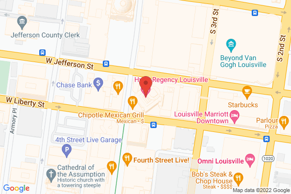 Mapped location of PSAV