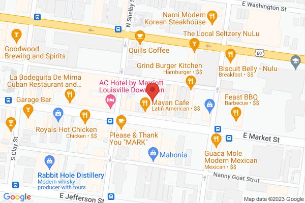 Mapped location of Fleur de Lis Events & Design