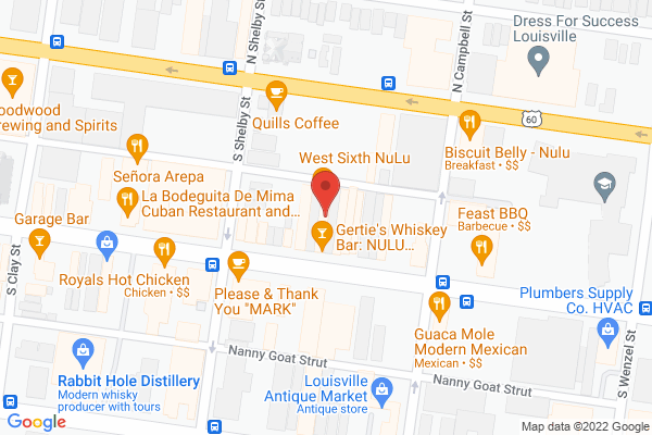 Mapped location of Decca