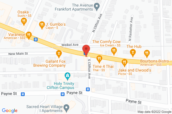 Mapped location of Caffe Classico