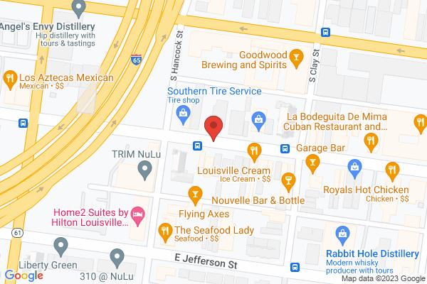 Mapped location of Galerie Hertz Art Gallery