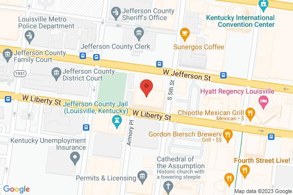 Mapped location of Cat Box Deli