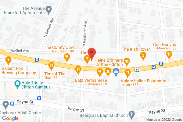 Mapped location of 5-0-Lou