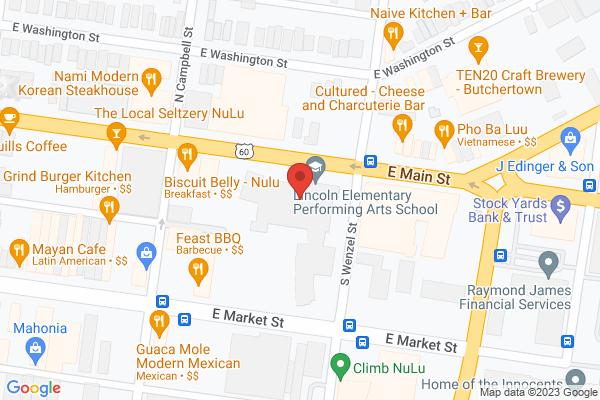 Mapped location of Louisville Children's Film Festival