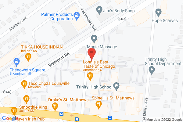 Mapped location of St. Matthew's Cycling