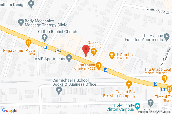 Mapped location of Flamenco Louisville