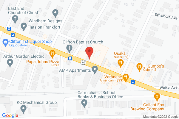 Mapped location of The Fuelery Restaurant and Cafe
