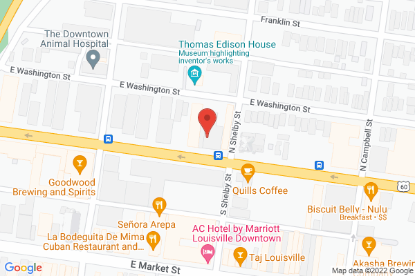 Mapped location of Butchertown Grocery Bakery