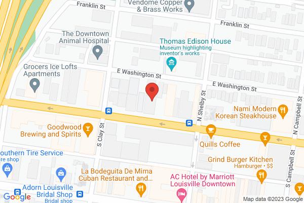 Mapped location of Pregame Coffee