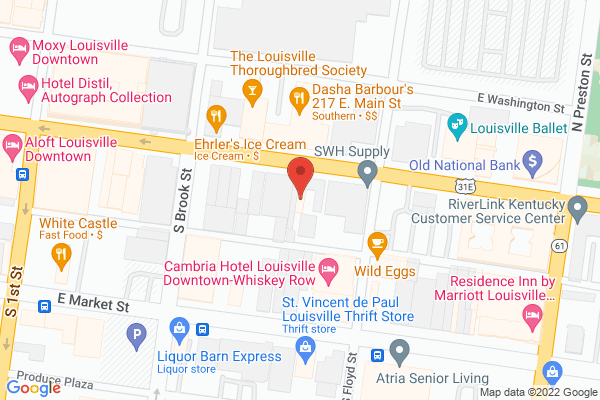 Mapped location of Stevie Ray's Blues Bar