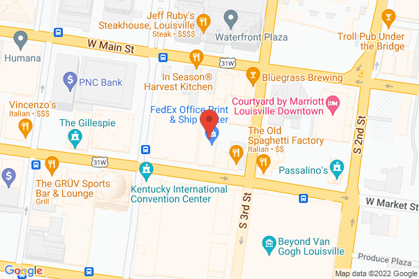 Mapped location of Stage One Family Theatre