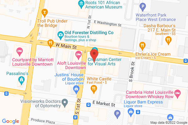 Mapped location of City Taste Tours of Louisville