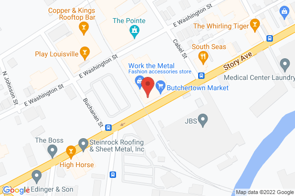 Mapped location of Moss Hill Bath & Body Collection