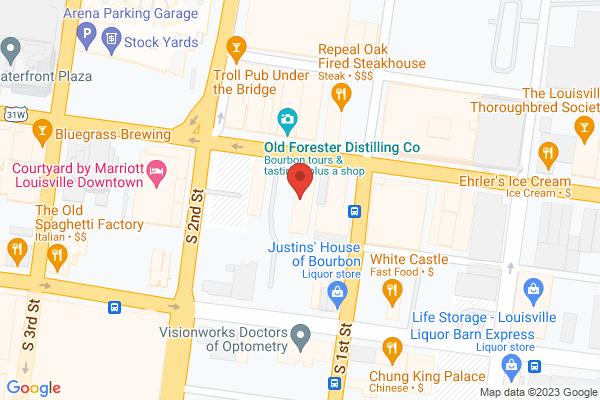 Mapped location of Bourbon Basics