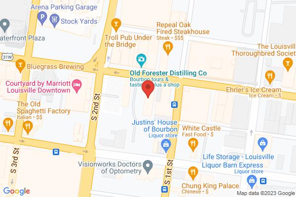 Mapped location of Lynn Family Stadium
