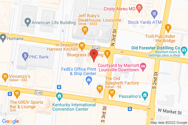 Mapped location of Actors Theatre of Louisville