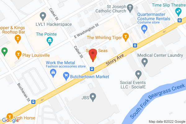 Mapped location of Hog Father Pizza Shop