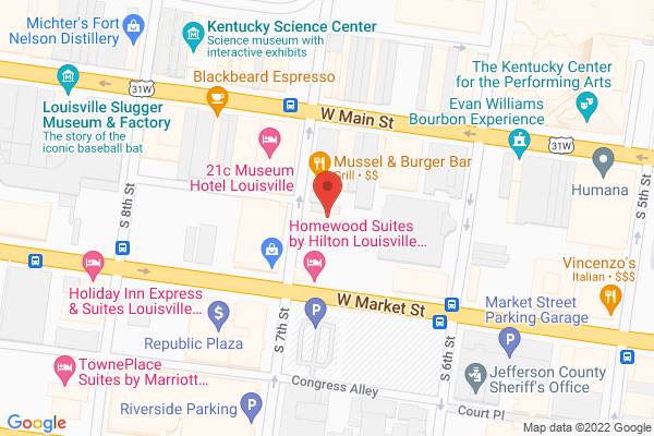 Mapped location of AtG Sandwich Emporium