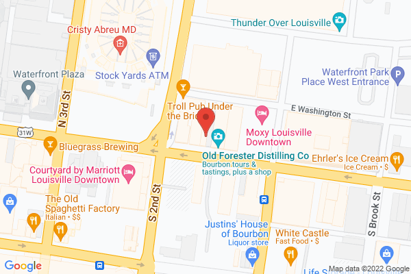 Mapped location of Patrick O'Shea's
