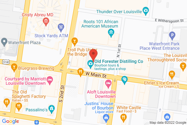 Mapped location of George's Bar