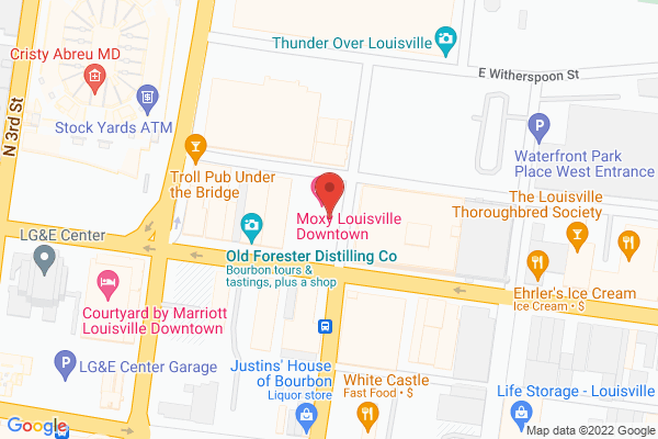 Mapped location of Hotel Distil, Autograph Collection