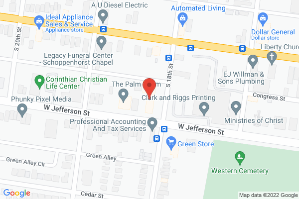Mapped location of Hip Hop Sweet Shop