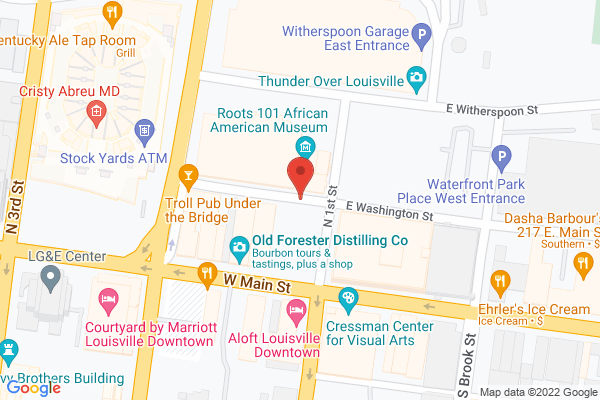 Mapped location of Hell or High Water Bar