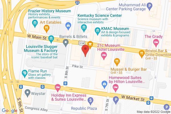 Mapped location of Boomer's Café